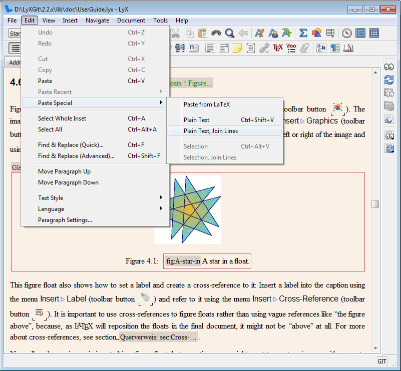 lyx Software for Academic Writing
