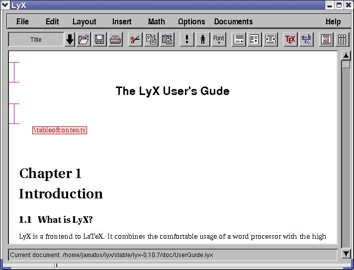 LyX Archaeology: LyX timeline
