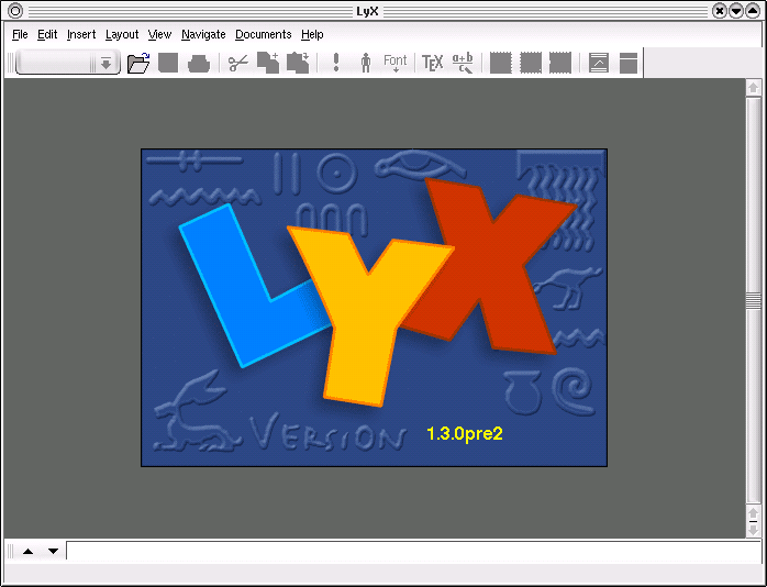 For Lyx Version 1 3